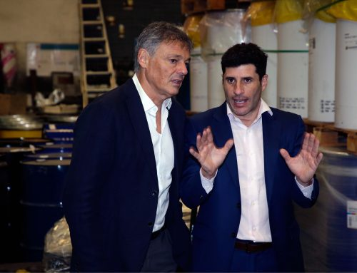 El ministro Francisco Cabrera visitó nuestra empresa